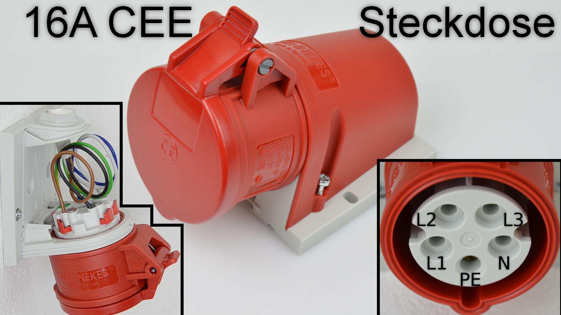 CEE Steckdose Thumbnail