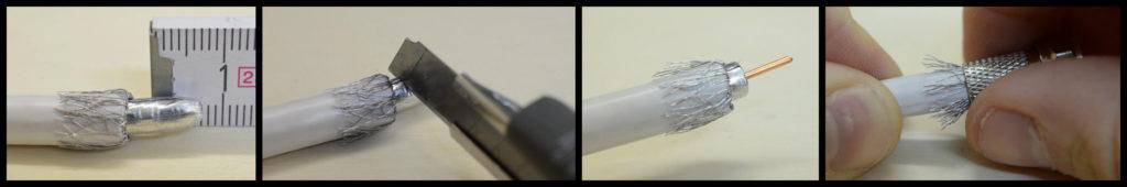 Gut gemocht F-Stecker aufbringen - Der Elektriker ZS06