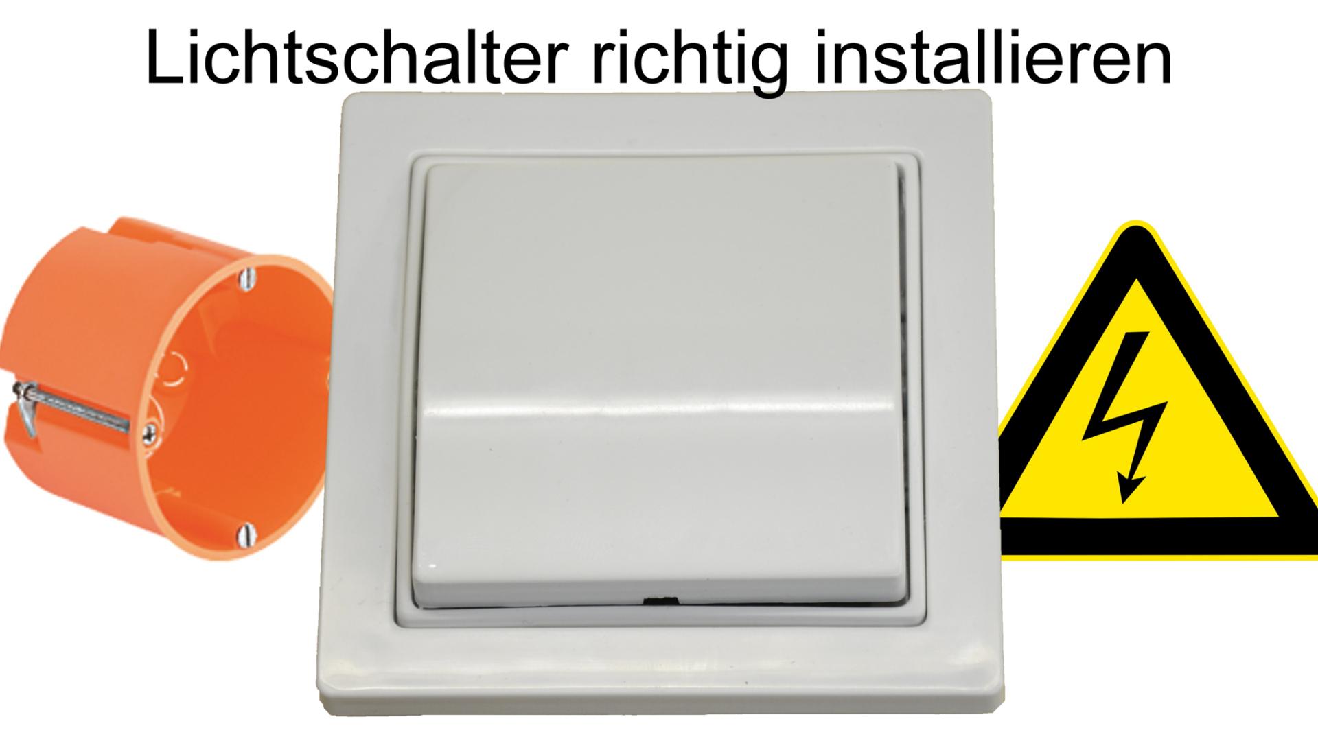 Lichtschalter installieren Thumbnail2